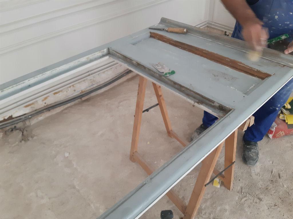Реставрация деревянных окон и дверей