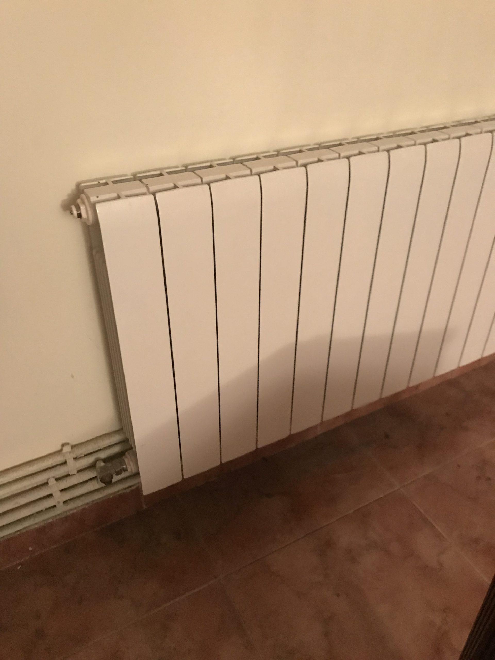 Установка системы отопления в доме