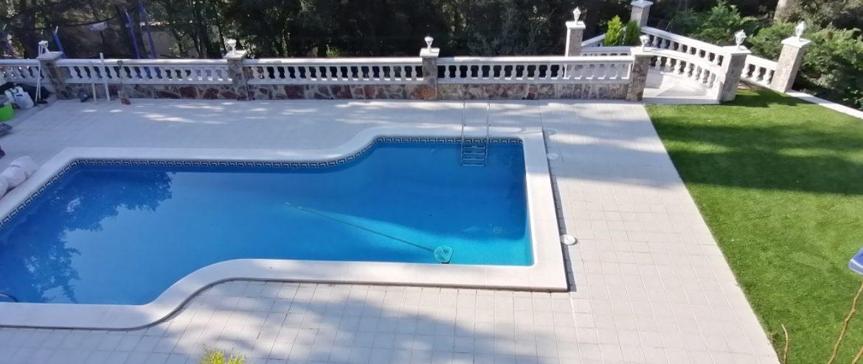 Строительство и монтаж зимнего бассейна в Барселоне