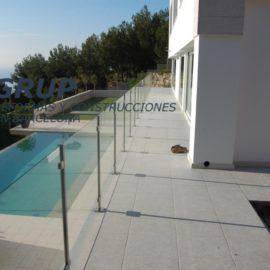 Строительство дома и бассейна в Sitges