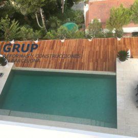 Строительство террасы в Sitges